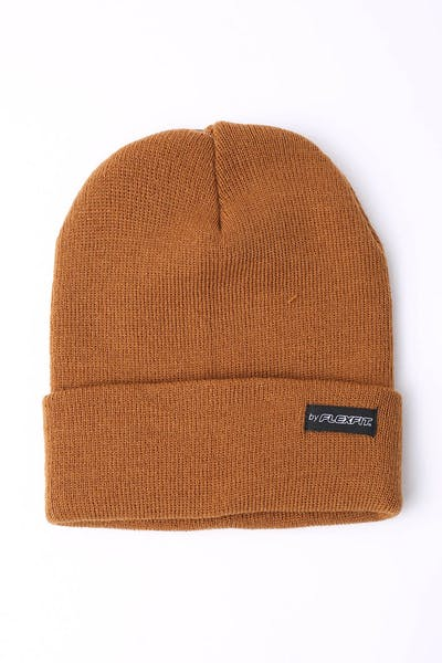 Flexfit Folded Blank Flexfit Beanie Coffee