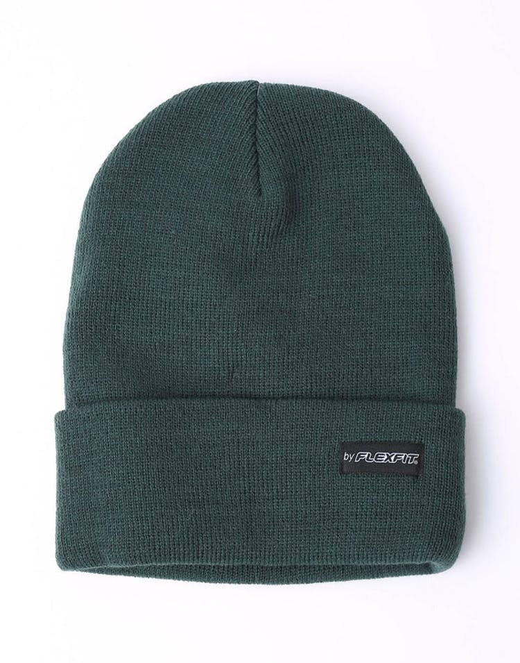 1aab00651d9 Flexfit Folded Blank Flexfit Beanie Forest Green – Culture Kings