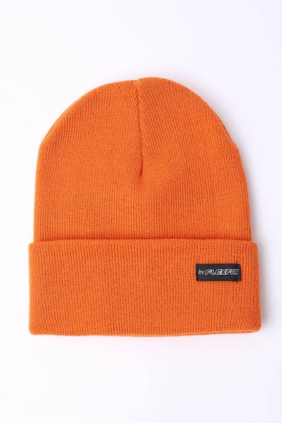 Flexfit Folded Blank Flexfit Beanie Orange