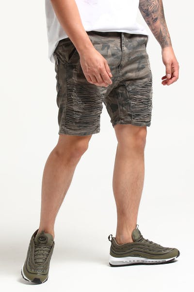 Nena And Pasadena Destroyer Short Camo