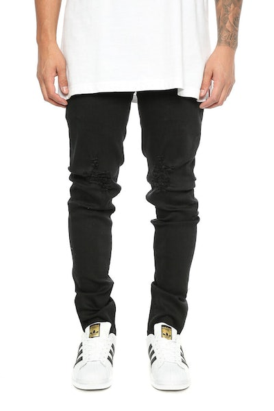 Nena and Pasadena NX Skinny Jean Jet Black