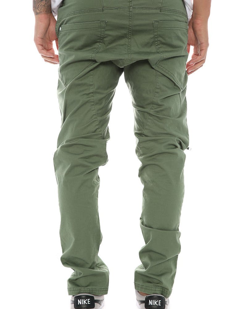 Nena and Pasadena Vengeance Gusset Chino Khaki