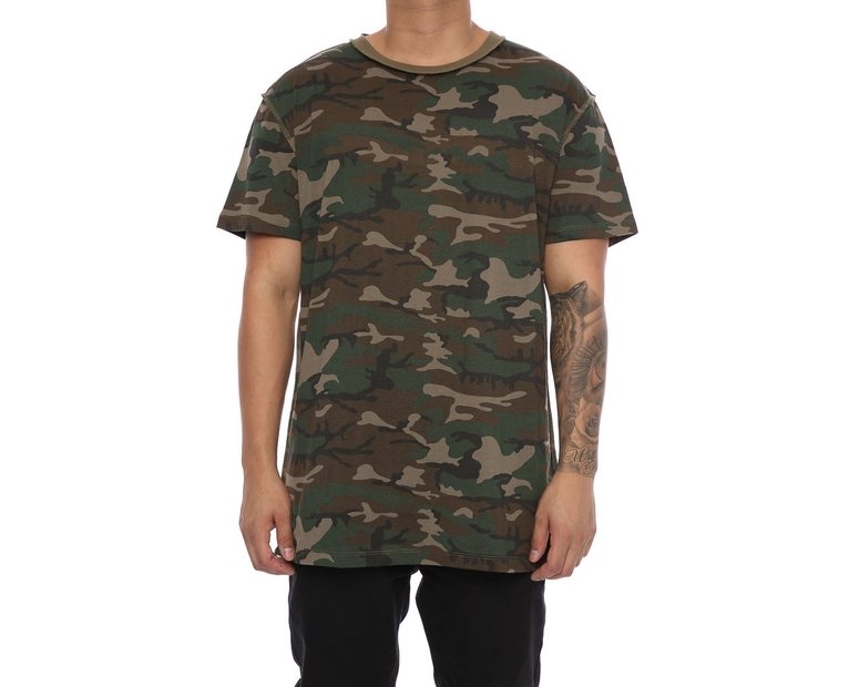Sushi Radio Paranoid Big Fit Tee Camo