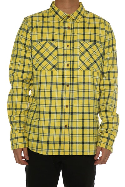 Sushi Radio Skid Row Long Sleeve Shirt Yellow