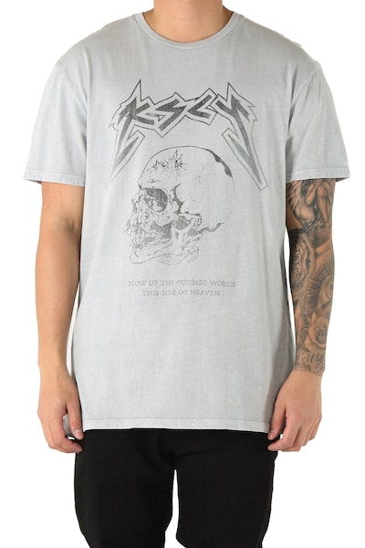 Kiss Chacey Sad But True Relaxed Fit Tee Grey