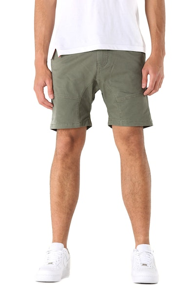 Nena and Pasadena Flight Short Apache Green