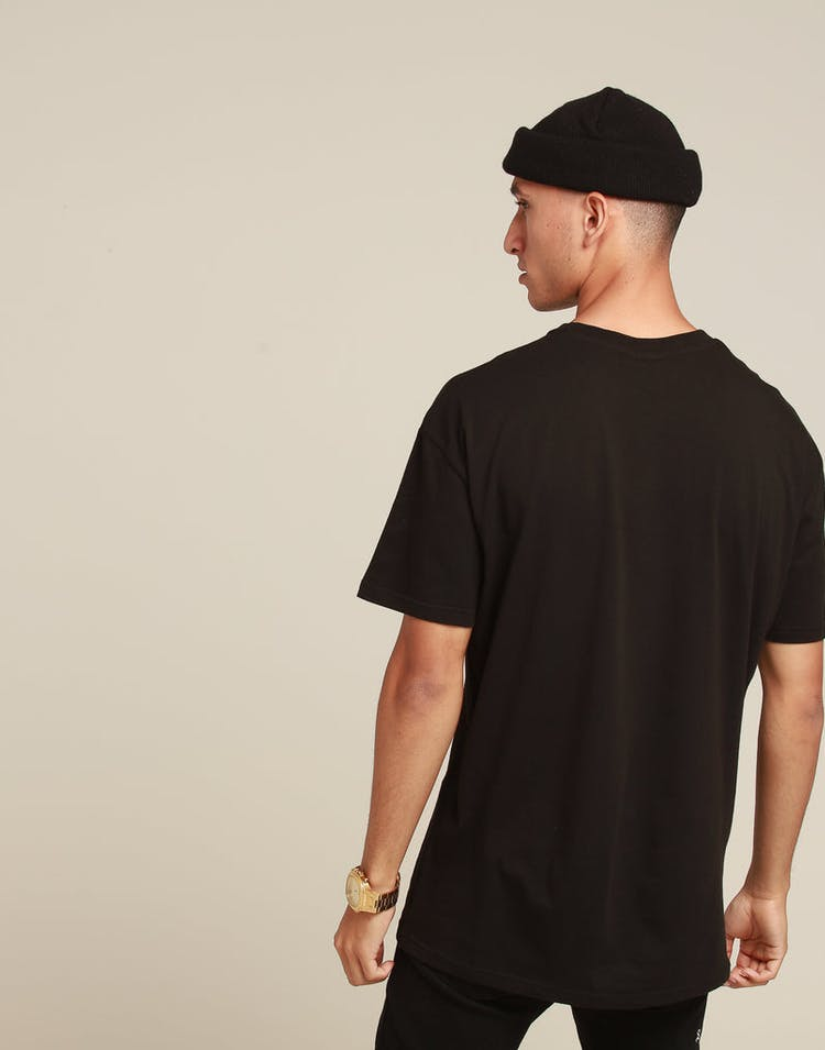 c4103be8 Stussy Shell SS Tee Black – Culture Kings