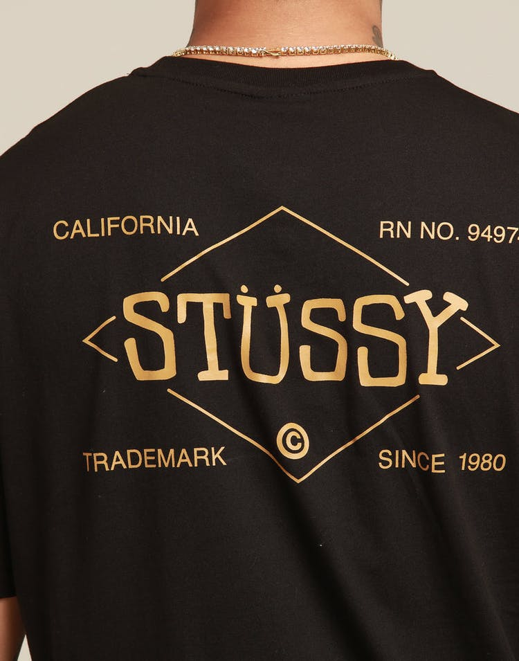 bad3d393 Stussy Work SS Tee Black – Culture Kings