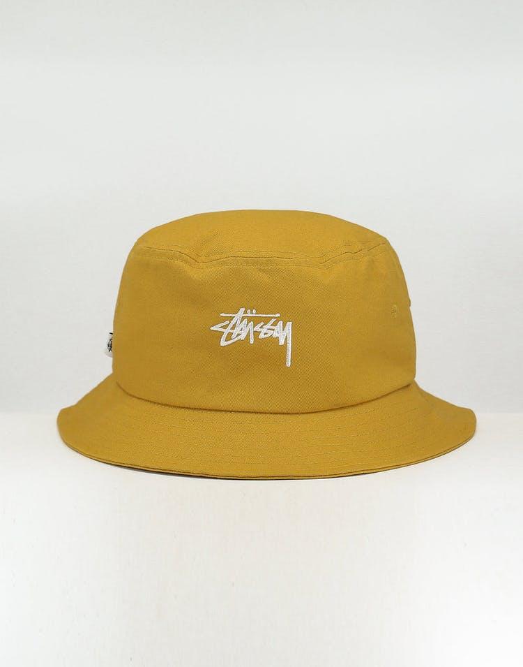 717813a9b Stussy Stock Bucket Hat Mustard