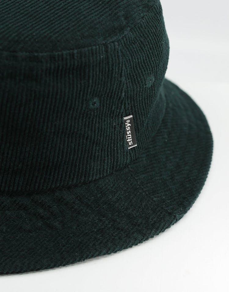 57ba7ae4d Stussy Authentic Cord Bucket Hat Dark Bottle