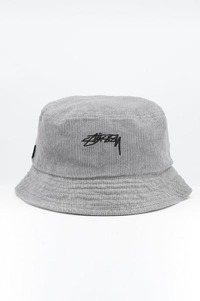 Stussy Authentic Cord Bucket Hat Atmosphere