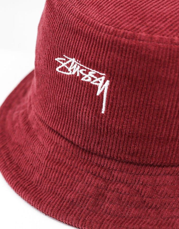 fd691d10c Stussy Authentic Cord Bucket Hat Dark Port
