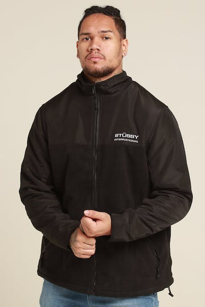 Stussy Drake Polar Fleeces Black
