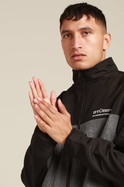 Stussy Drake Polar Fleece Grey Marle