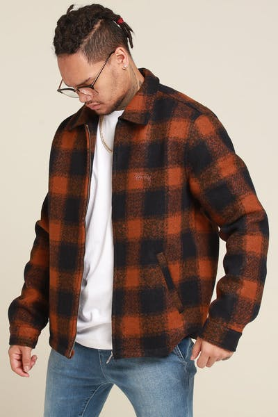 Stussy Valley Jacket Rust