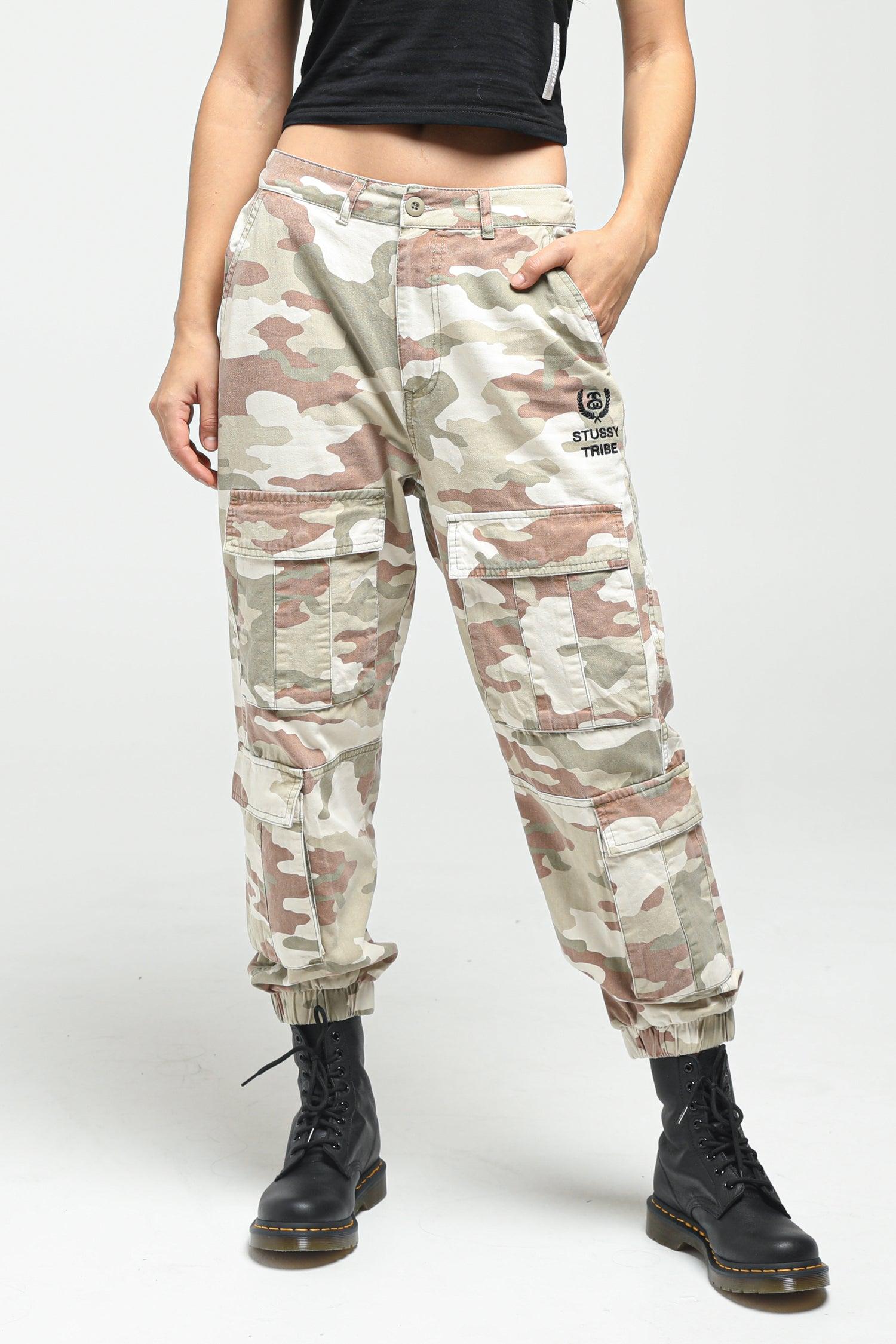 Stussy Women's Hunt Cargo Pant Black