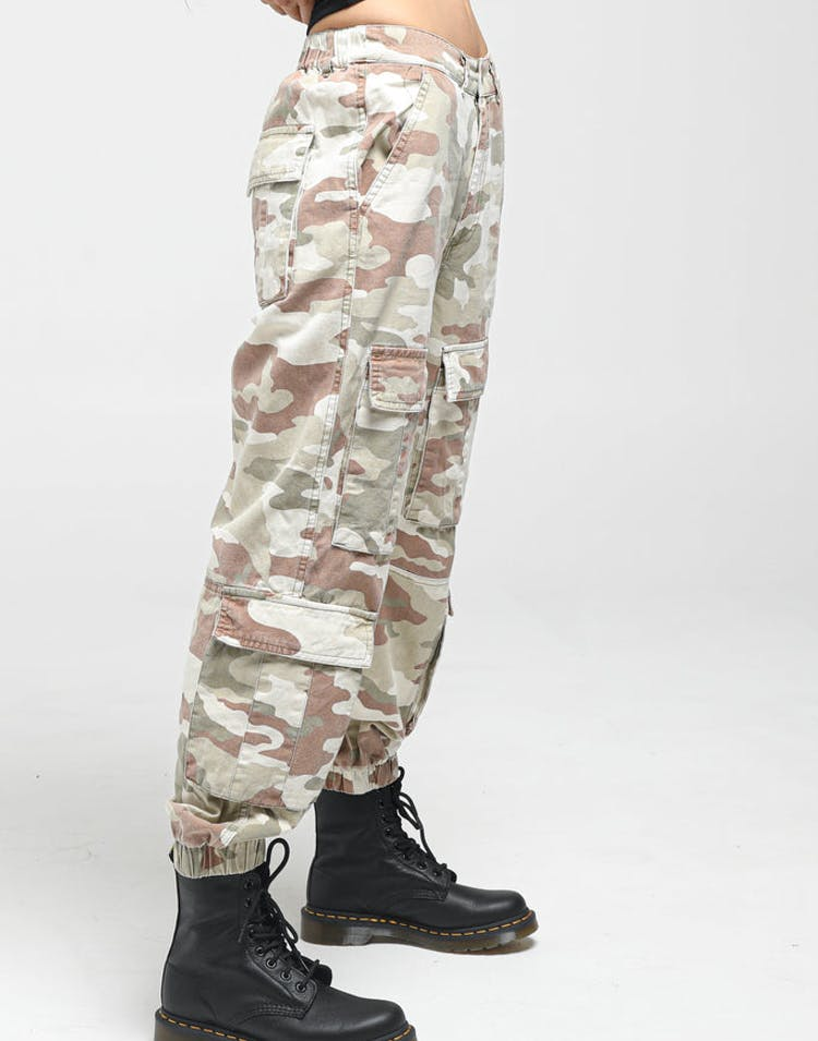 boy beautiful style best place for Stussy Women's Hunt Cargo Pant Camo