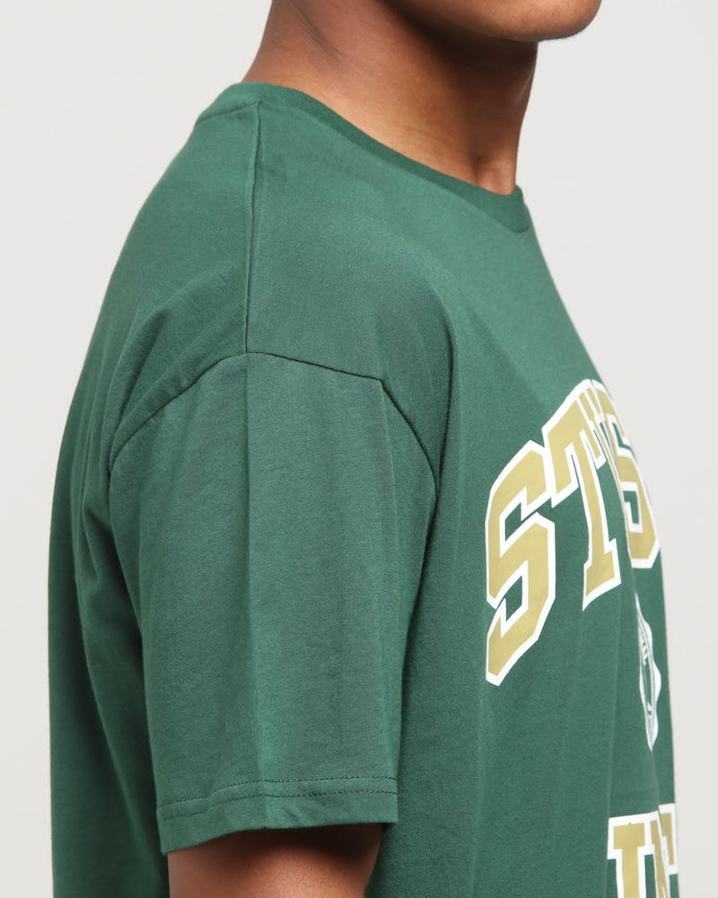 Stussy Athletics SS Tee Bottle Green