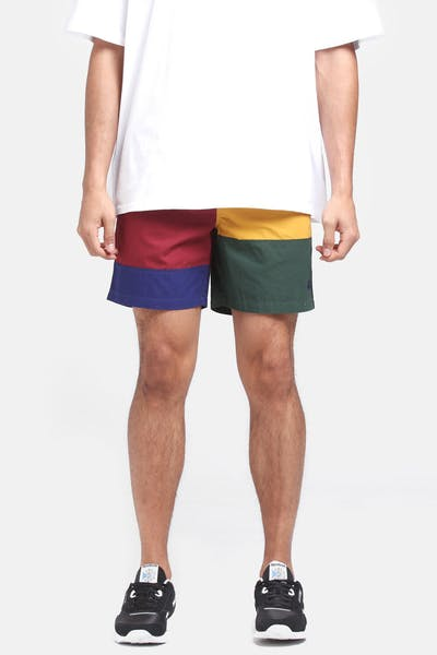 Stussy JJ Panel Beachshort Multi-Coloured