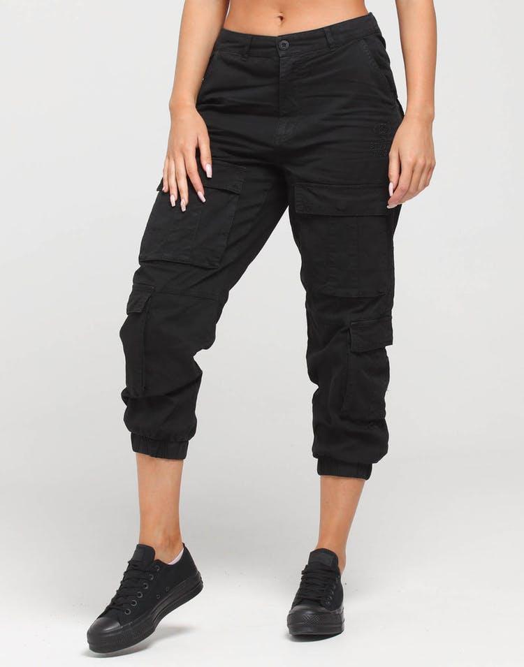2407195d Stussy Women's Hunt Cargo Pant Black