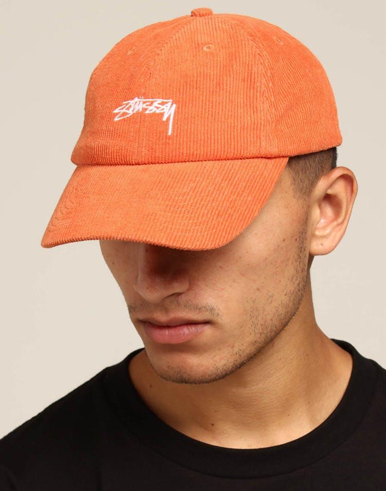 c5b0e4a71bd58 Stussy Authentic Cord Low Pro Cap Orange – Culture Kings