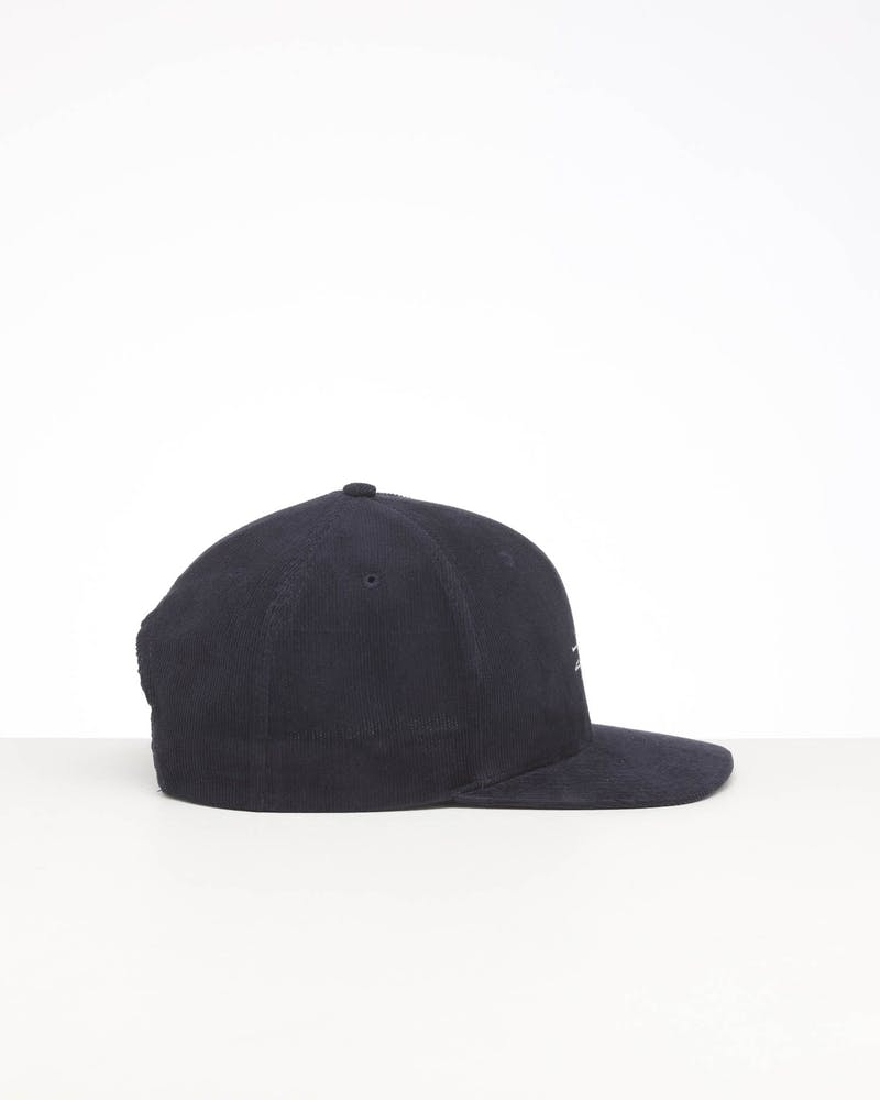 STUSSY GRAFFITI CORD SNAPBACK CAP BLUE NIGHTS