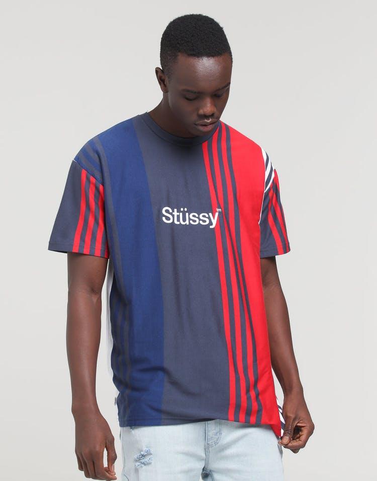 198a8d4e Stussy | Faded Vert YD SS Tee Navy | Mens T-Shirt | Brand New ...