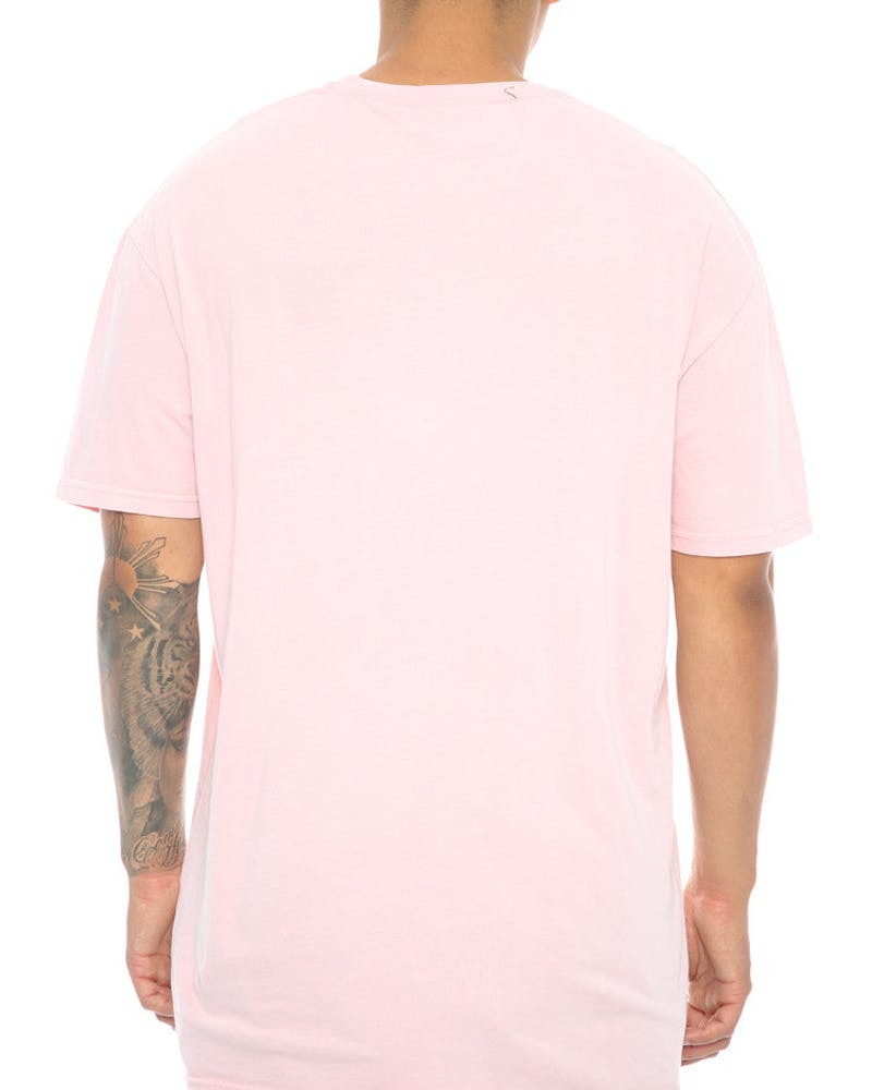 Stüssy Dancing Italic SS Tee Light Pink