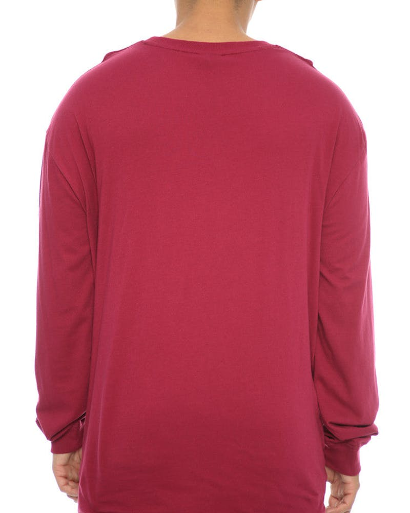 Stüssy Canvas Long Sleeve Tee Port