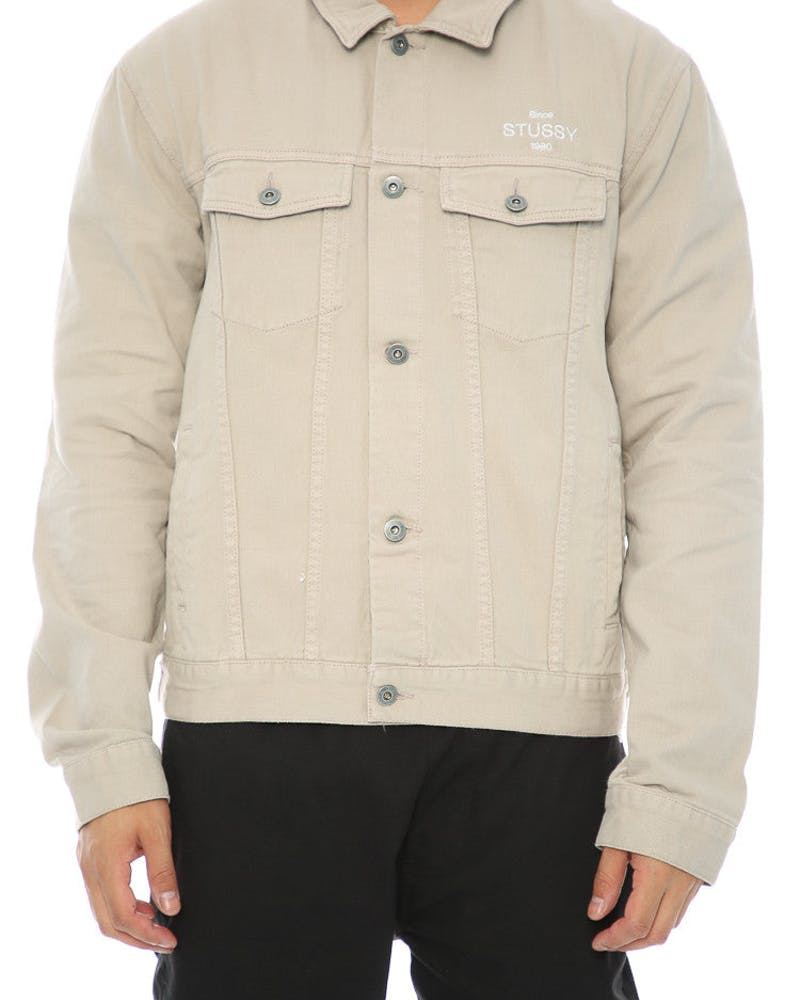 Stussy Same Game Jacket Tan