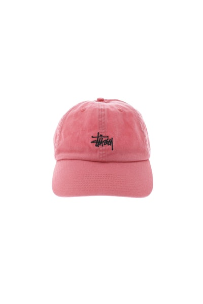 Stussy Stock Lo Pro Strapback Red
