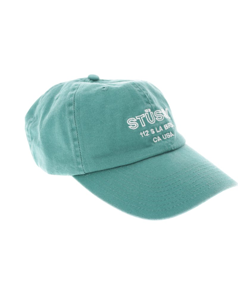 Stussy Los Solid Low Pro Strapback Teal