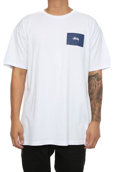 Stussy Chapters SS Tee White