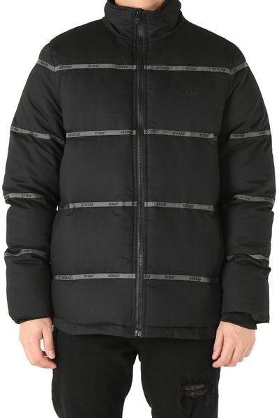 Stussy Ruby's Puffa Jacket Black