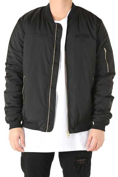 Stussy Tour Bomber Jacket Black