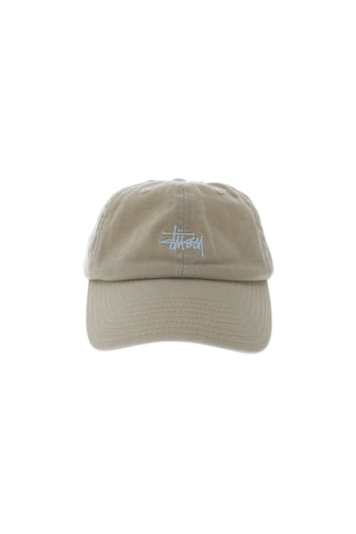 Stussy Stock Lo Pro Strapback Taupe