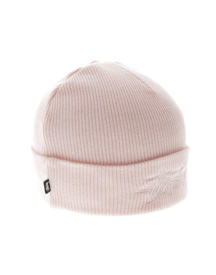 5375653edc9 Stussy Tonal Stock Cuff Beanie Pink – Culture Kings
