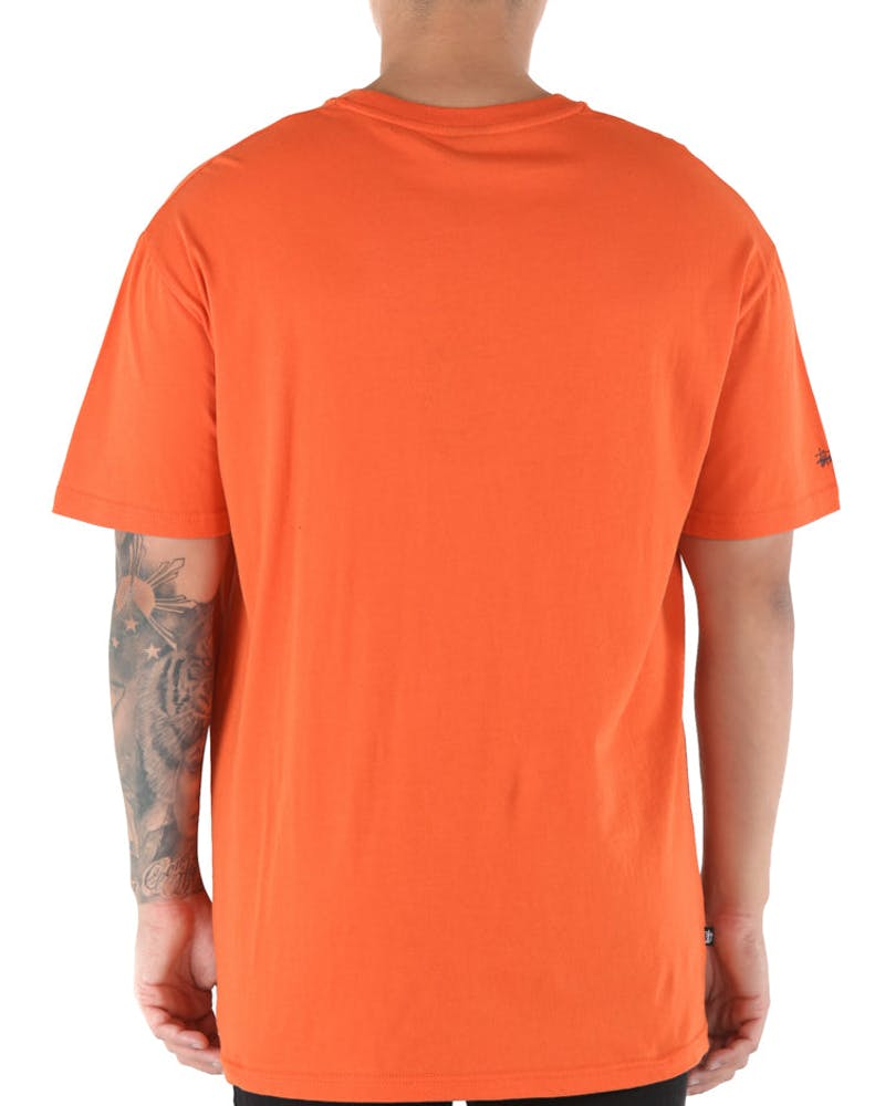 Stussy Outline SS Tee Orange