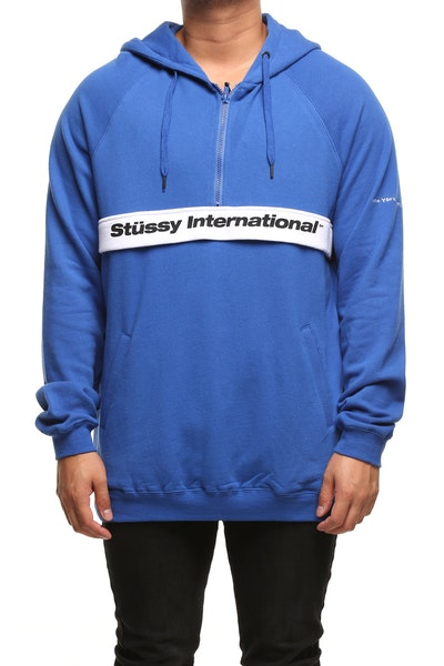Stussy Management Hood Blue