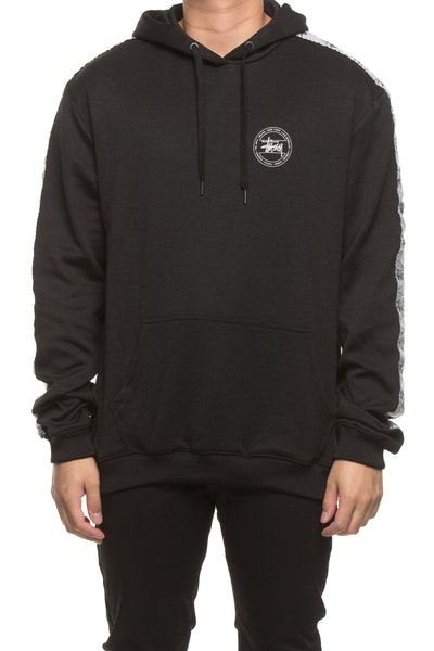 Stussy Graffiti Tape Hood Black