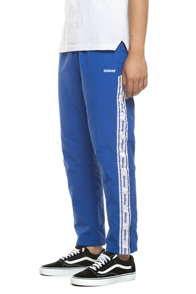 STUSSY CHOOSE LEISUREWEAR TRACKPANT ROYAL