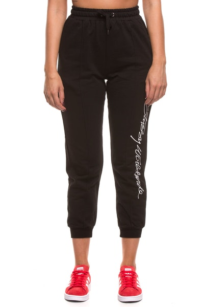 Stussy Women's Worldwide Trackpant Black