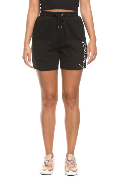 Stussy Worldwide Cut Off Short Black