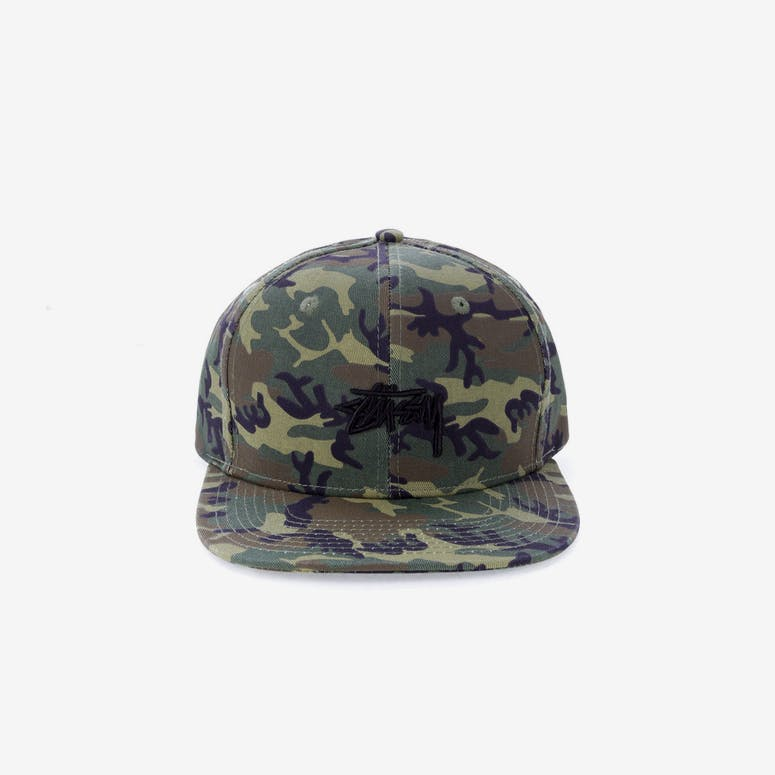Stussy Stock Snapback Cap Camo – Culture Kings 075dc2d3db7