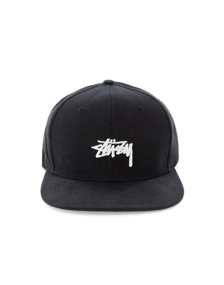 34ca161ee2ff25 Stussy Stock Snapback Cap Black – Culture Kings