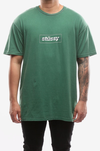 Stussy Look Up SS tee Kelly Green