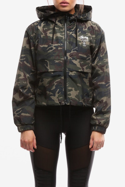 Stussy Women's Chapters Jacket Camo