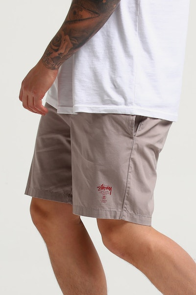 Stussy Basic Cities Beachshort Atmosphere Grey