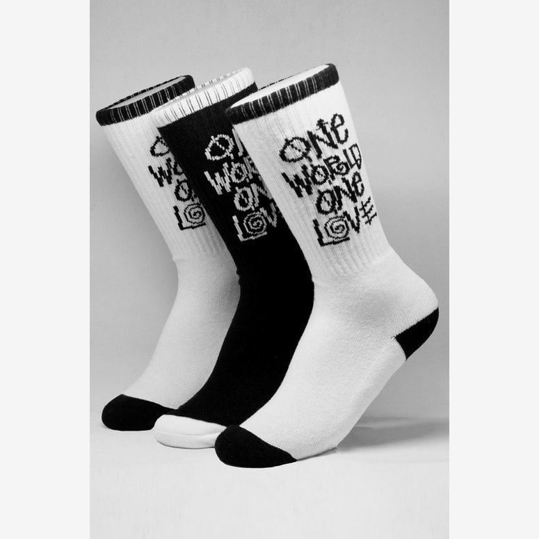Stussy One Love Sock 3 Pack Multi-Coloured