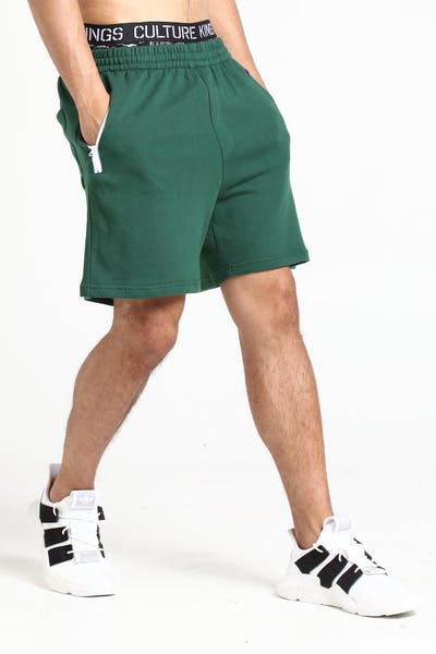 Stussy Team Track Short Dark Green